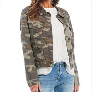Miss me camp denim jacket medium NWT